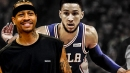 Allen Iverson raves about Ben Simmons playing 'far beyond his age'