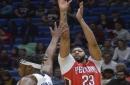 Davis, Moore, propel Pelicans past Pacers, 96-92