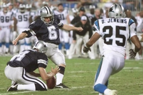 Former Cowboys kicker Tim Seder is named football coach at North Mesquite