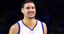 Klay Thompson thinks he's the best skater in the NBA