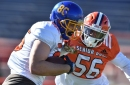 The Panthers find their future tight end in Albert Breer's latest mock