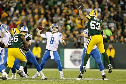 Matthew Stafford is one of the best deep passers but still has farther to go