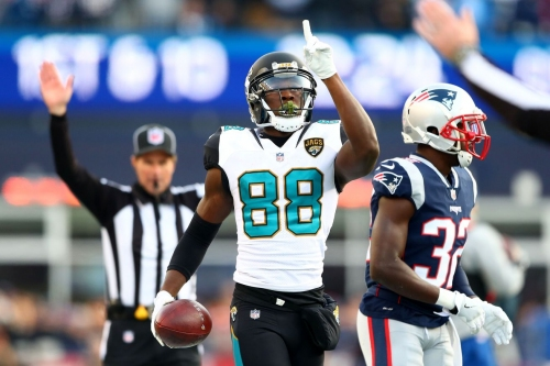 Raiders no longer mentioned as team in the running for free agent WR Allen Hurns