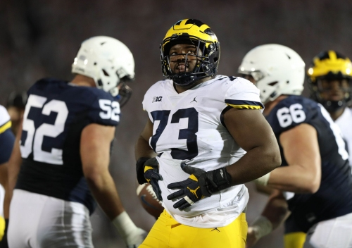 Report: Maurice Hurst cleared to workout at Michigan's pro day