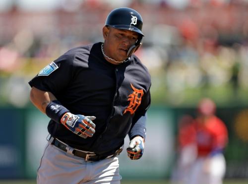 Miguel Cabrera homers off Jake Arrieta as Detroit Tigers top Phillies, 6-2