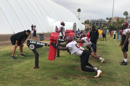 WATCH: Highlights from ASU's Thursday practice
