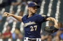 Zach Davies and bullpen lead Brewers to 1-0 shutout win over Royals