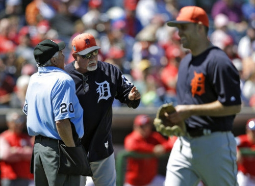 5 ejected in Tigers-Phillies game as 3 batters hit