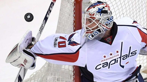 Holtby missing game vs Red Wings; Capitals call up Copley
