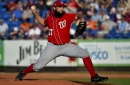 Tanner Roark hit hard in final inning of work in Nationals' 12-5 loss to the Mets...