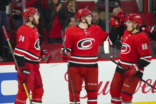 Recap and Ranker: Zykov, Skinner Lead Hurricanes Past Coyotes, 6-5