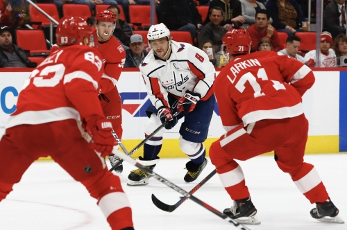 Detroit Red Wings blanked by Capitals, 1-0; official out for playoffs