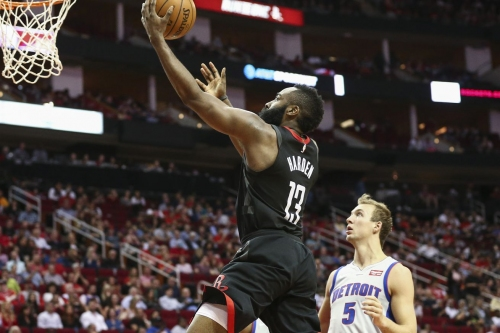 Rockets win ugly overtime contest over Pistons