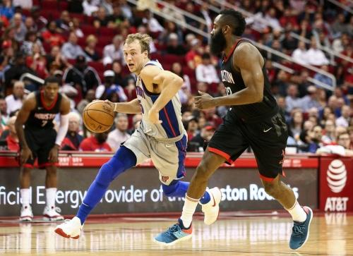 Detroit Pistons' Luke Kennard excels defensively in OT loss to Rockets