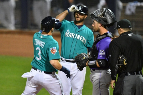 Mariners walk it off in fifth to last game that doesn't matter