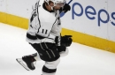 NHL roundup: Anze Kopitar scores 4 goals, Kings beat Avalanche 7-1