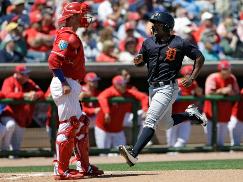 Christin Stewart making his case for playing time with Detroit Tigers