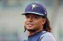 Chris Archer, Daniel Robertson injured by baseballs today