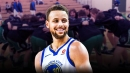 Video: Stephen Curry goes through shootaround with Kentucky uniform after losing bet