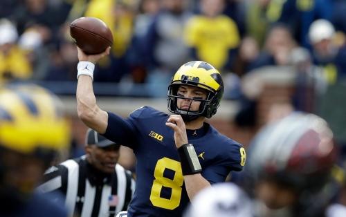Michigan football's John O'Korn has a goal: Just make an NFL roster