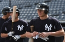 Yankees' Brandon Drury's X-rays negative after being hit on the elbow