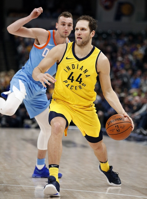 Bogdanovic's shooting, Oladipo's defense key Pacers' win over Clippers