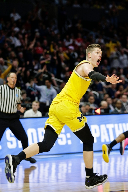 Michigan's Moritz Wagner having time of his life in NCAA tournament