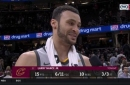 Larry Nance Jr. reveals his favorite part about playing with Kevin Love