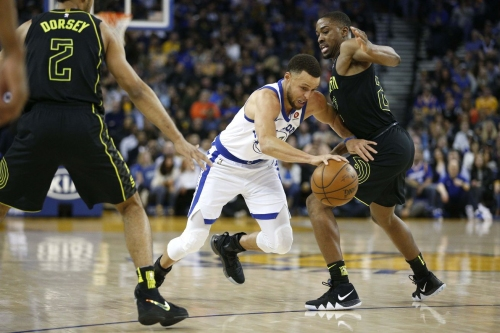 Injury Update: Steph Curry has a left knee strain