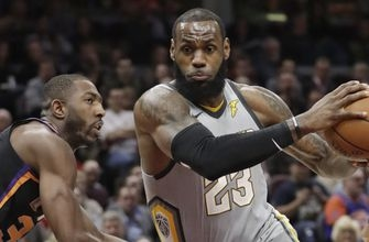 Cavs soar past Suns, 120-95, for 4th straight win