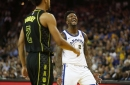 Steph Curry injured again as Warriors beat Hawks 106-94