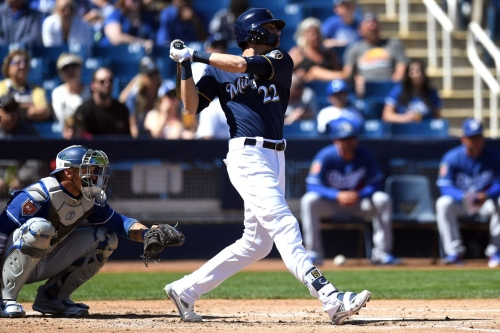 Brewers trounce Athletics 10-5 to capture Cactus Cup