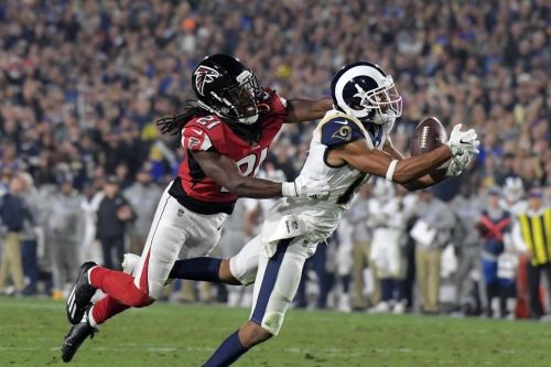 Are the Falcons and Rams due for injury regression in 2018?