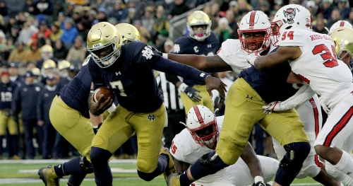 Notre Dame needs plan for if Brandon Wimbush loses out to Ian Book