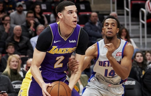 Lonzo Ball Flirts With Triple-Double But Lakers End 4-Game Road Trip With Loss To Pistons