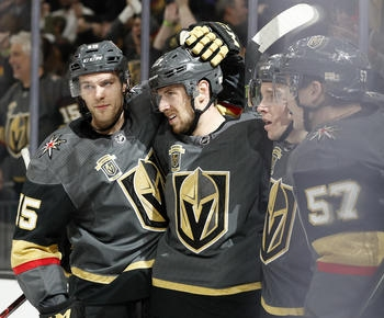 NHL roundup: Vegas secures playoff spot with 4-1 win over Avalanche