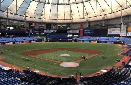 For starters: Rays vs. Tigers on the new Trop turf