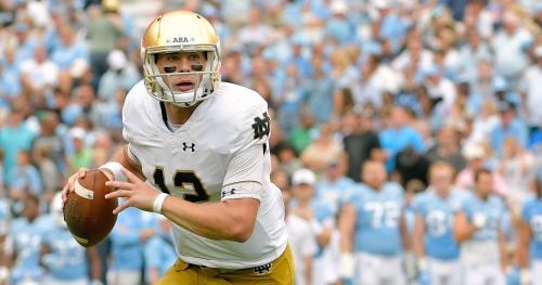 Notre Dame quarterback Ian Book calls spring competition with Brandon Wimbush 'fun'
