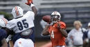 Malik Willis, Auburn offense will focus on corrections Tuesday after turnover-filled scrimmage