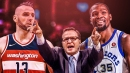 Scott Brooks pokes fun at Kevin Durant, Marcin Gortat in post-game quote