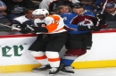 Provorov's goal, assist help Flyers to win over Avalanche