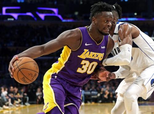 Lakers Highlights: Brook Lopez & Julius Randle Dominate Paint, Kyle Kuzma Controls 4th Quarter In Win Over Mavericks
