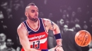 Wizards' Marcin Gortat receives warning from NBA for flopping