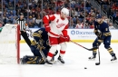 Detroit Red Wings 'lose' on draft positioning, beat Buffalo Sabres, 6-3