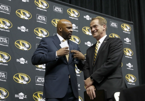 Mizzou AD 'blindsided' by Porter's back injury