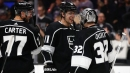 Jeff Carter's hat trick powers Kings over Coyotes