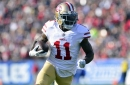 Goodwin gave the 49ers serious value in 2017