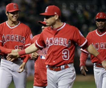 Trout homers as Angels beat Athletics 2-1