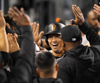 Panik's homer in 9th lifts Giants to 1-0 win over Dodgers