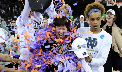 Notre Dame players suffered four ACL injuries this year. But they're still on the brink of a national title